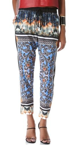 Why is Clover Canyon SO GOOD?! #print #fashion #pant