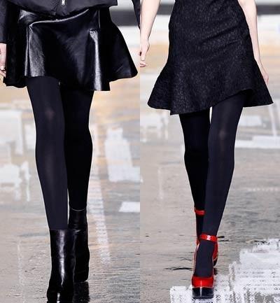 DKNY Mini Faldas en corte A