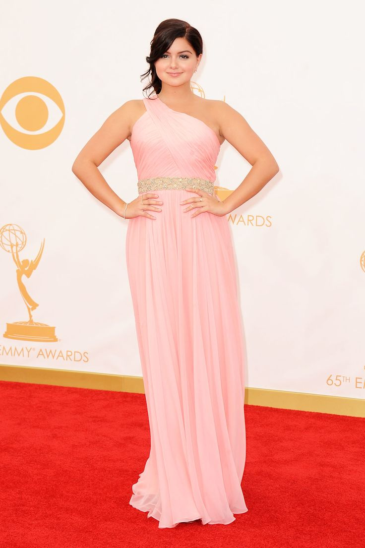 Emmy Awards 2013: Red Carpet Arrival Photos Ariel Winter in Lorena Sarbu.