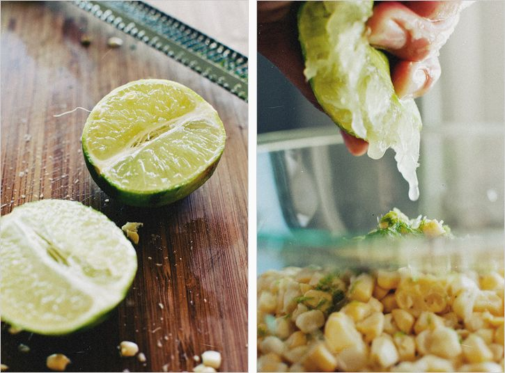 Sweet Corn Ceviche   sides and appetizers   Pinterest