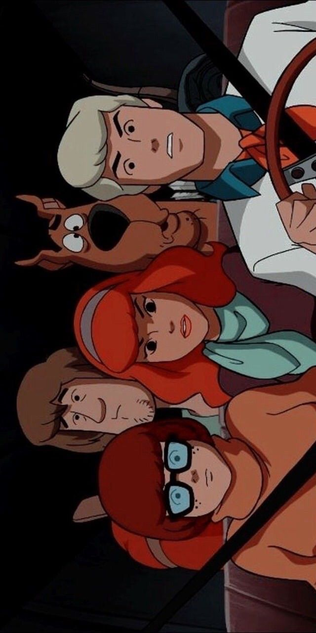 Scooby Doo In 2020 Vintage Cartoon Cartoon Wallpaper Disney Wallpaper