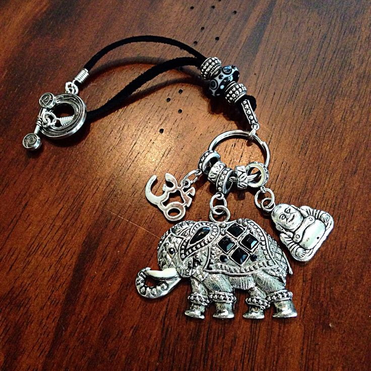 Car Accessory, Rearview Mirror Charm, Yoga Keychain, Hamsa Hand Keychain, OM Charm, Buddhist Keychain, Elephant Keychain, Love Keychain by DorysBoutique on Etsy