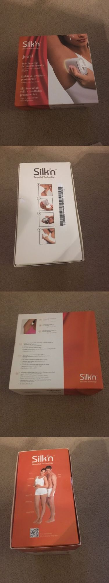 Laser Hair Removal and IPL: Silkn Jewel Hair Removal Device! Home Pulsed Light (Hpl) Technology!New In Box! BUY IT NOW ONLY: $90.0