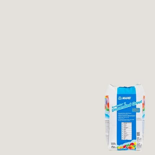 Mapei 00 White KeraColor Unsanded Grout - 10lb. - 100035971 | Floor and Decor