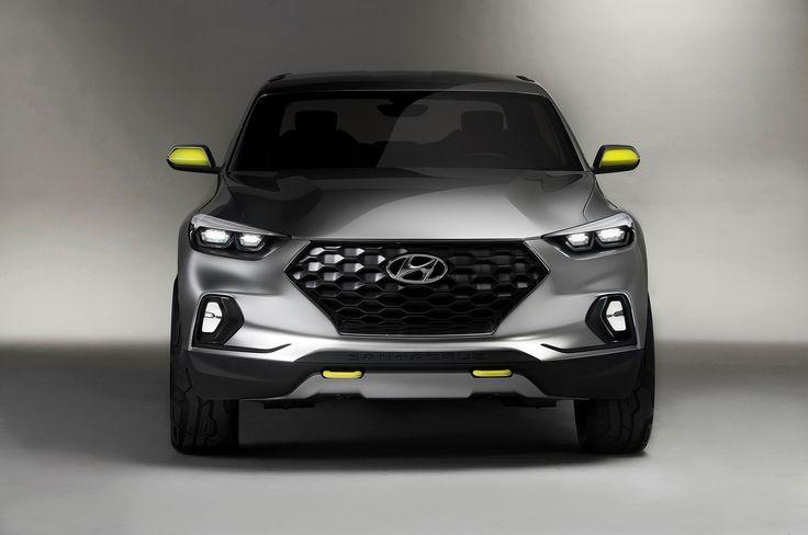 Image for 2019 Hyundai Santa Cruz Pickup Front View