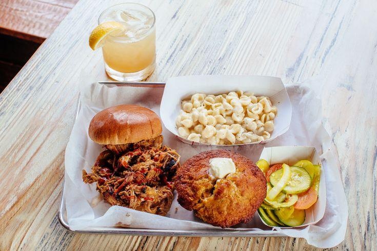 Pull pork sandwich in Andersonville