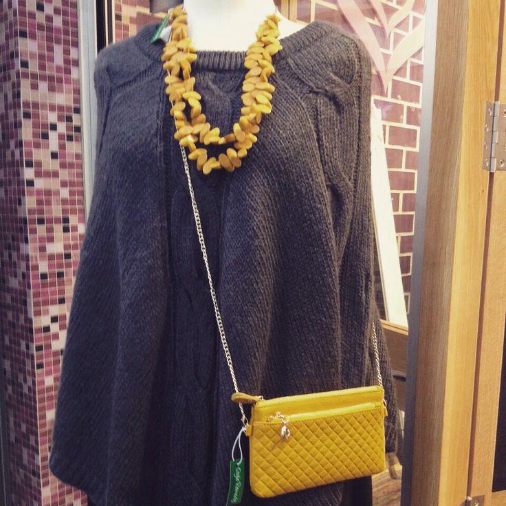 Winter must Tony Jin Fashion poncho