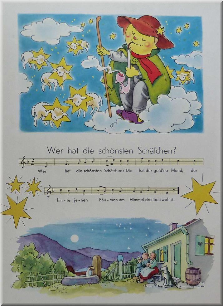 Ri-ra-rutsch - Kinderlieder-Bilderbuch 1964 - www.eichwaelder.de