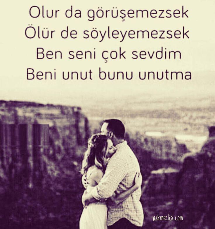 Olur da görüşemezsek, ölür de söyleyemezsek ben seni çok sevdim. Beni unut bunu unutma... #iyigeceler #goodnight #solyanım
