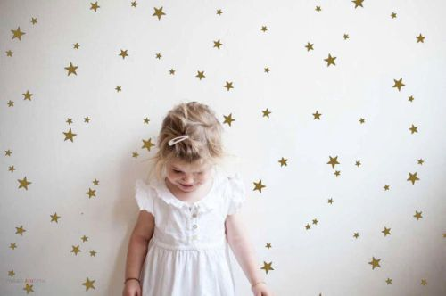 Stars-Wall-Sticker-Kids-Nursery-Removable-Stars-Wall-for-enfant-gold-Wall-Decor