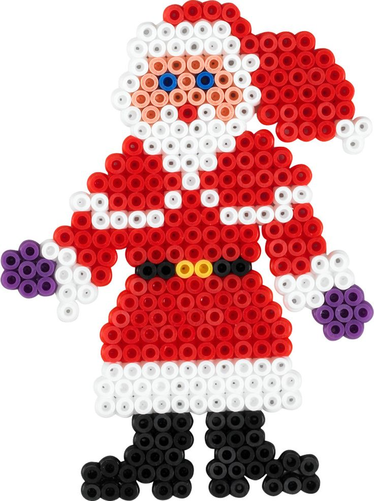 Santa Hama beads - Christmas Time 3034