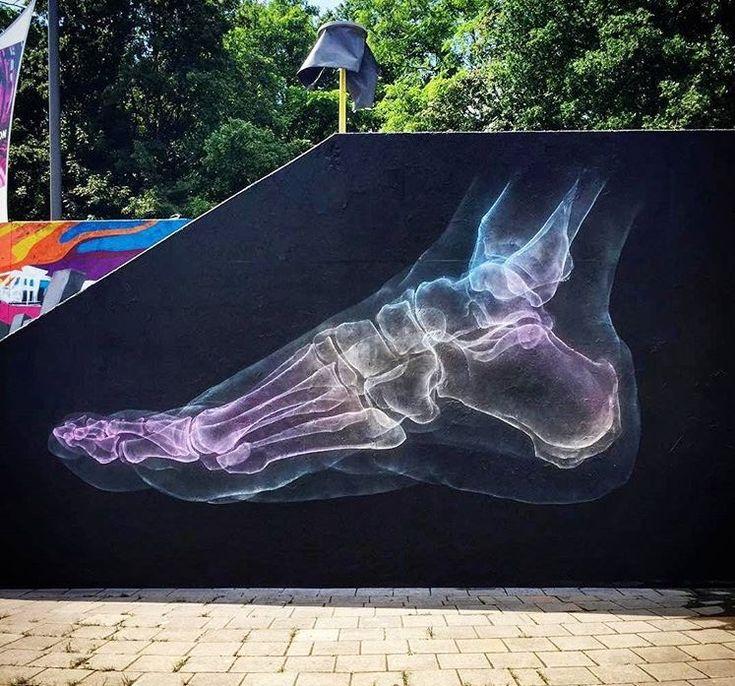 Eindhoven, Paesi Bassi: nuovo pezzo dello street artist inglese Shok_1.