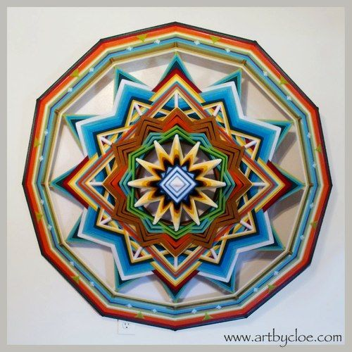 Gorgeous Mandala Art by Cloe