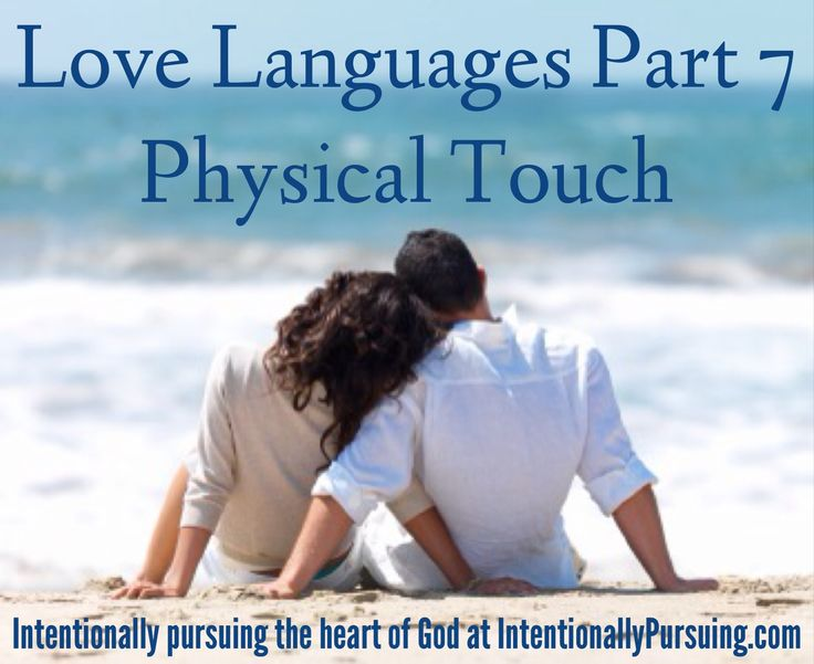 Physical touch is my primary love language, and my husband's hand is my comfort place.