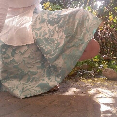 When there is sun.... #RebeccaBein Skirt Collection