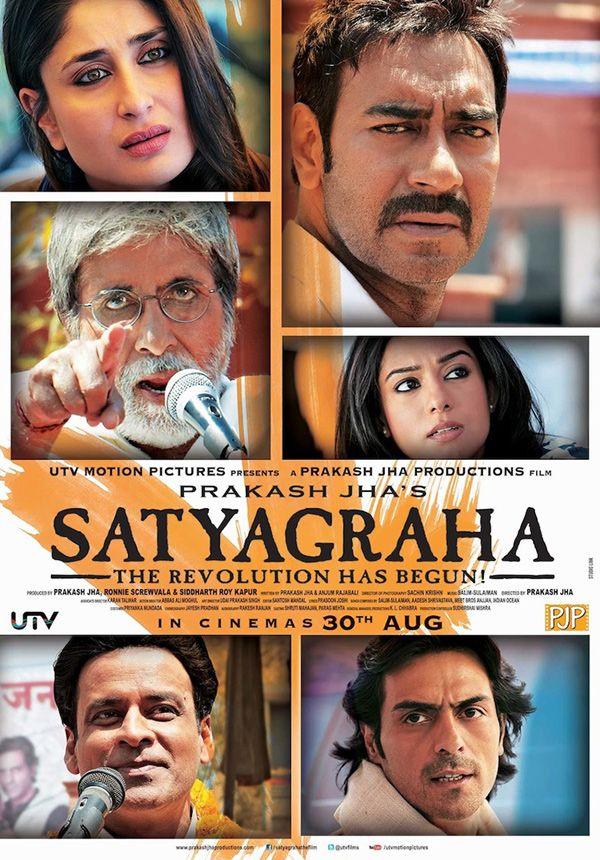 Satyagraha releasing on 30th August. Book your seats online.