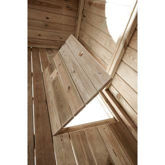 Stelzen-Spielhaus für den Garten JAKO-O, Kiefern-Holz online bestellen - JAKO-O