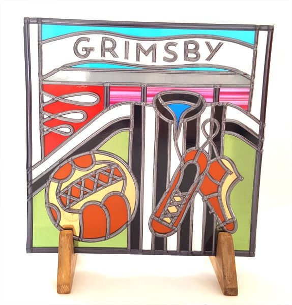 Limited availability - now available at BWSportsArt Grimsby Town Foot..., check it out online here http://www.bwsportsart.com/products/grimsby-town-football-suncatcher?utm_campaign=social_autopilot&utm_source=pin&utm_medium=pin