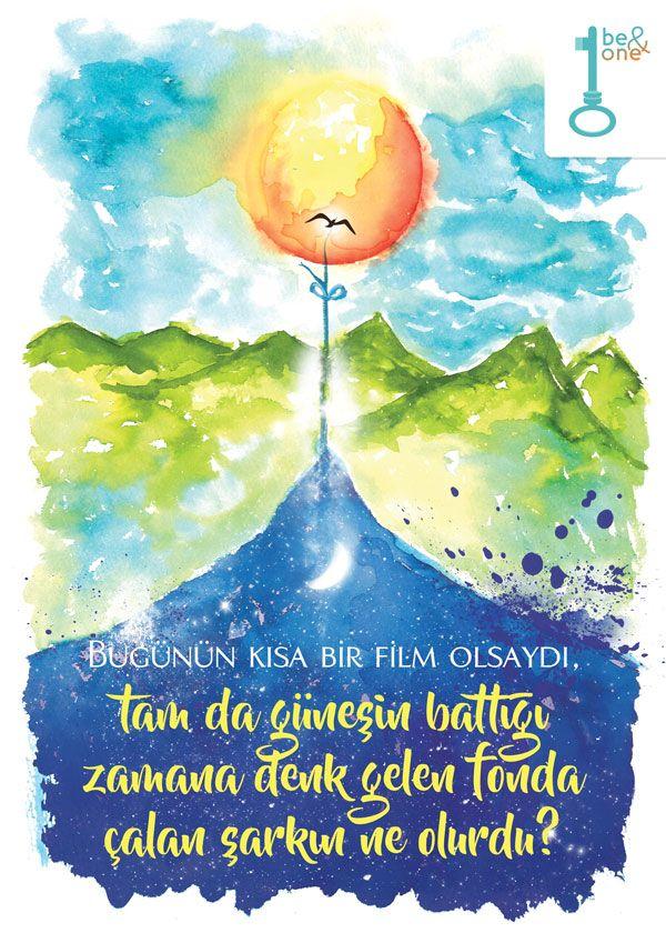 Gün Batımı - 17:56 - Bugünün kısa bir film olsaydı, tam da güneşin battığı zamana denk gelen fonda çalan şarkın ne olurdu?