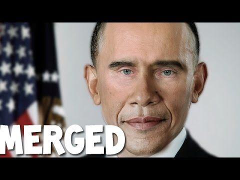 Merging B.Obama and Vladimir Putin [Photoshop]