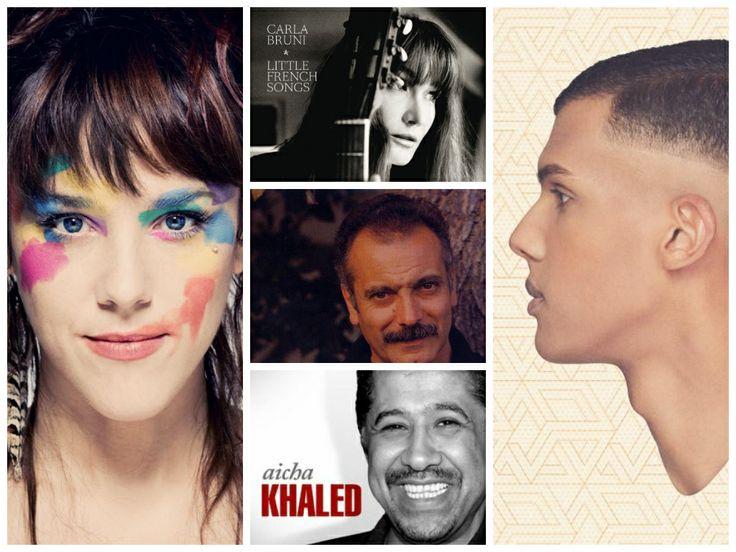 #Imparare il #francese con le canzoni  - Apprendre le #francais à l'aide des chansons de  #Zaz #Stromae #Khaled