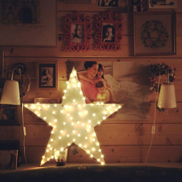 Star lamp diy
