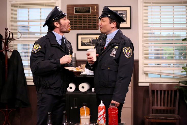 Jake Gyllenhaal one of the nicest actors you'd ever want to meet.Taking a trip down memory lane on Monday night, Jimmy Fallon unearthed fake footage from Point Pleasant Police Department the fake cop show he definitely didn't star in with Jake Gyllenhaal in the '80s.