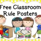 Free Classroom Rules - Posters
