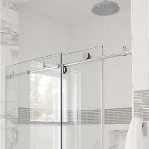 Gray Border Tiles Contemporary Bathroom Janie Molster Design Kitchen And Bath Elements