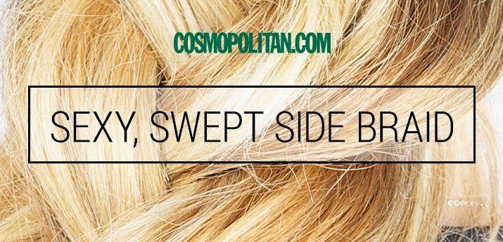 KoloDIY Beauty: Небрежная коса от Cosmopolitan