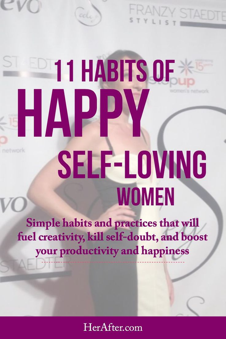 Want to be more productive, confident and happy? Check out the habits happy women swear by: CLICK to read full article.