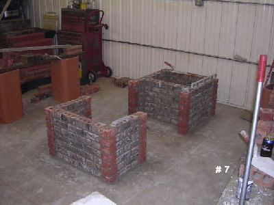 how to build a brick blacksmith forge