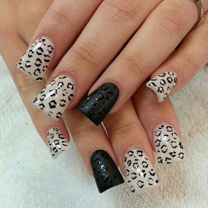 Duck nails cheetah print | Nail ideas | Pinterest | In ...