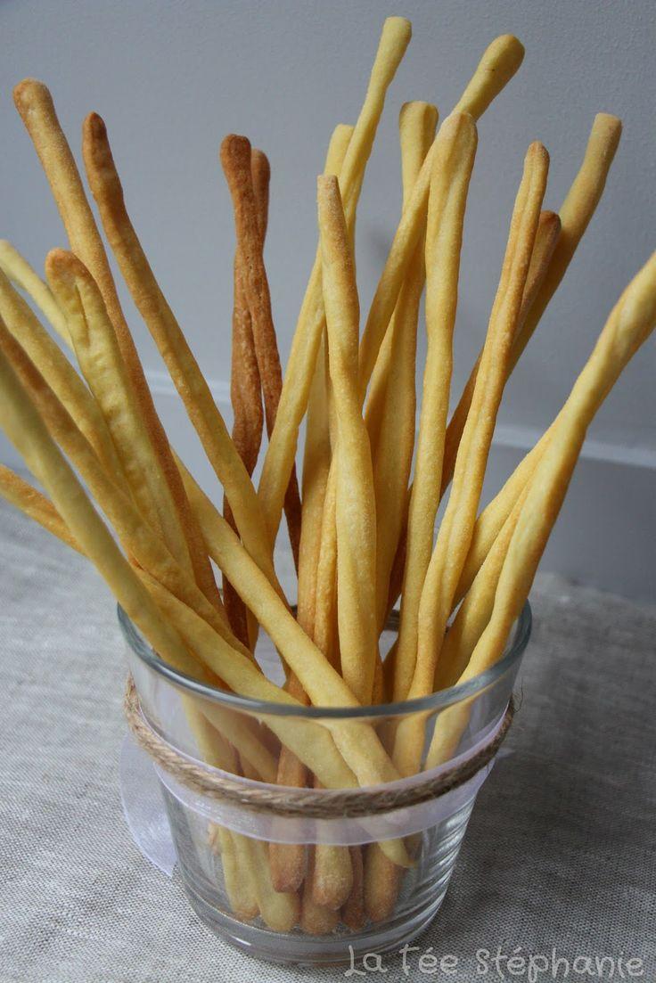 La Fée Stéphanie: Recette des flûtes aux olives noires et des gressins à l'italienne, à grignoter à toute heure!