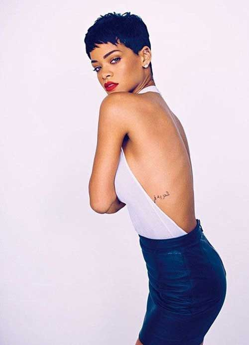 20.Rihanna Pixie Cut