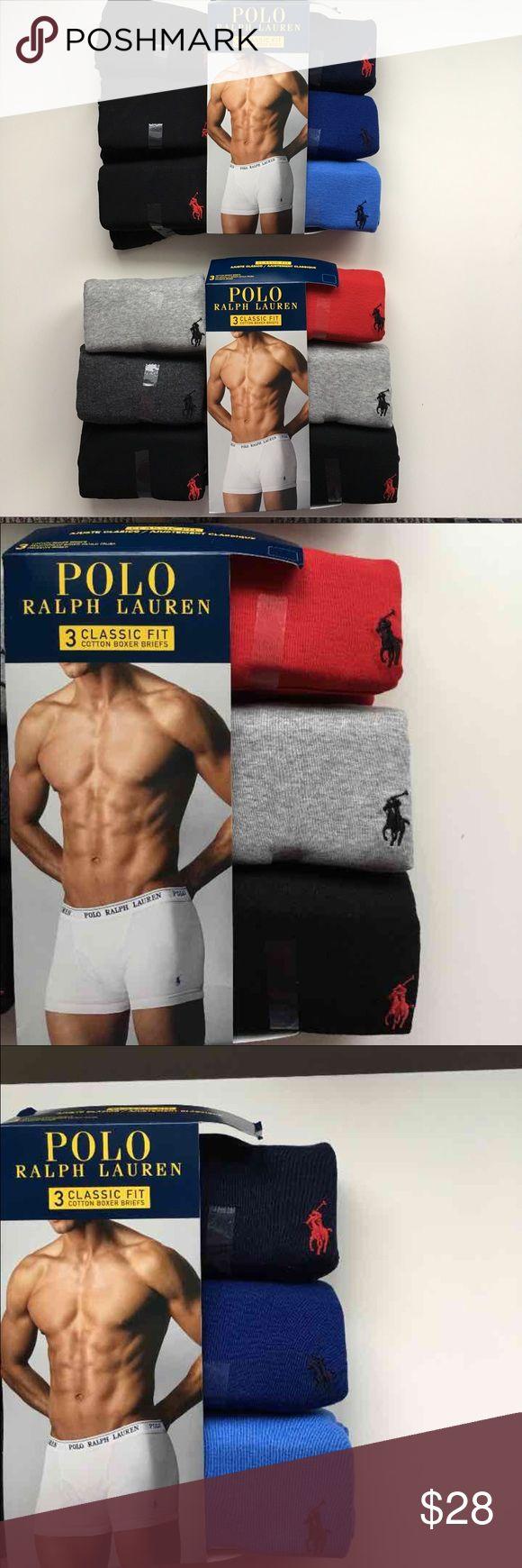 Ralph Lauren men underwear 3 pack Brand new boxer briefs Polo by Ralph Lauren Underwear & Socks Boxer Briefs