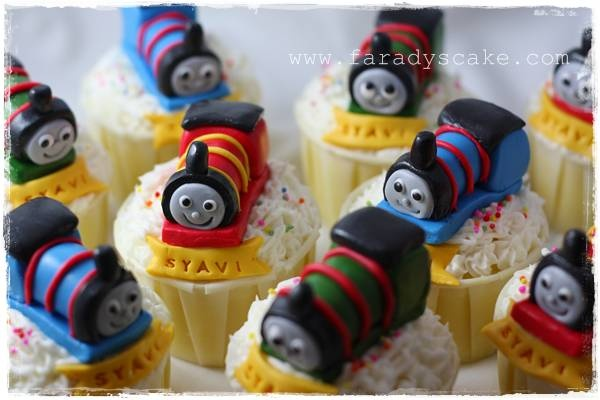 thomas and friends CupCake « Faradyscake