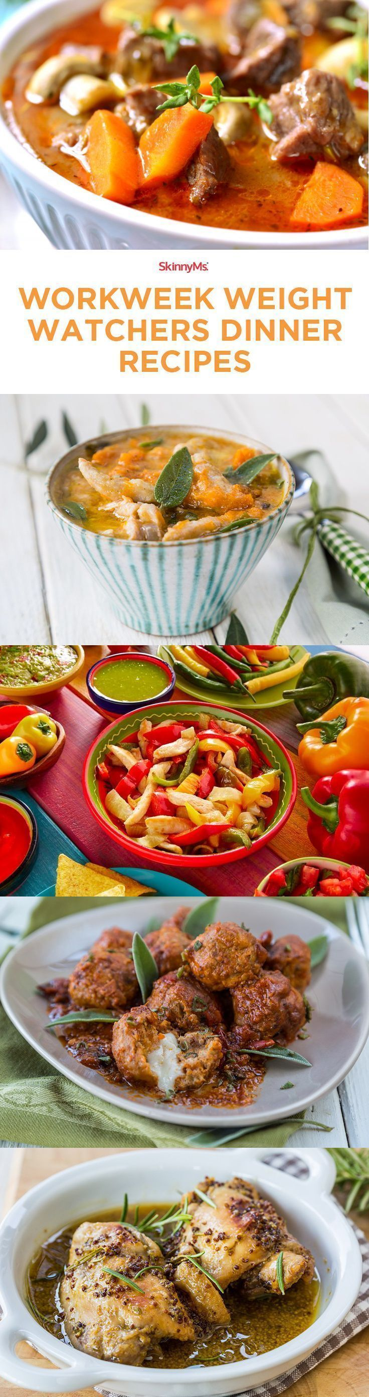 Workweek Weight Watchers Dinner Recipes