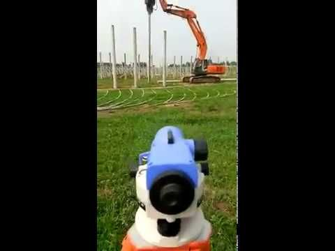 Vibration hammer of steel sheet pile—Hydraulic Vibratory Pile Driver