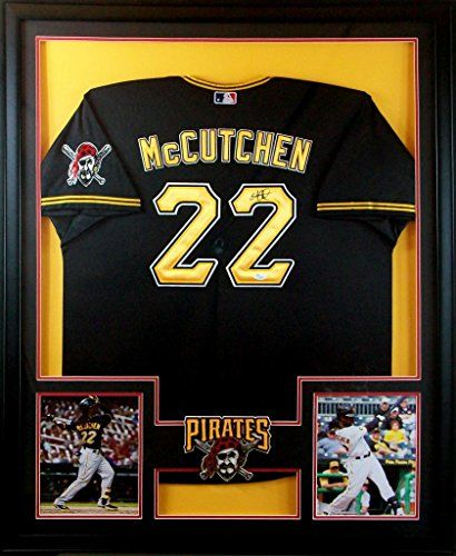 7 best sports memorabilia framing images on pinterest antique andrew mccutchen framed jersey signed jsa coa autographed pittsburgh pirates mister mancave http solutioingenieria Gallery