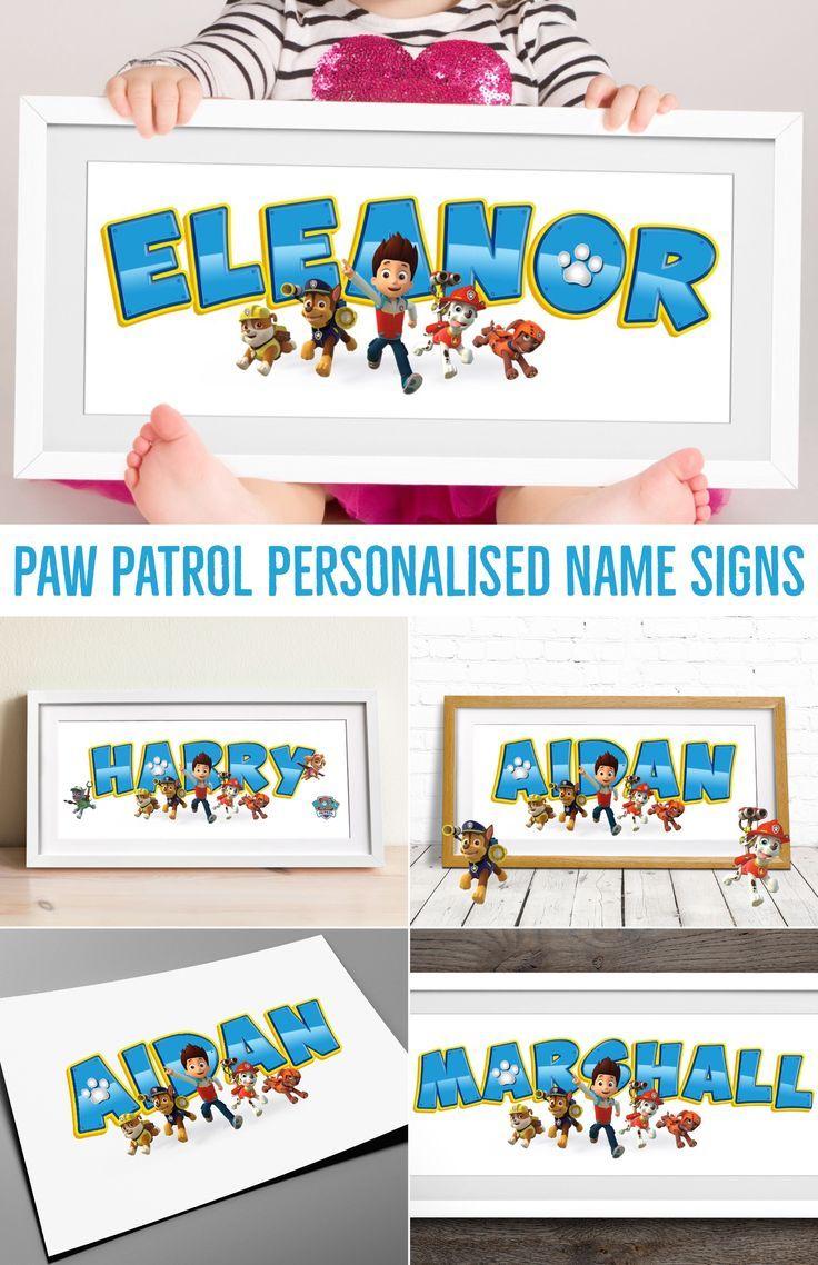 The 25 best name plaques ideas on pinterest wooden name plaques paw patrol name art nursery name sign name art paw patrol baby name plaque childrens name sign personalised baby gift wall art negle Image collections
