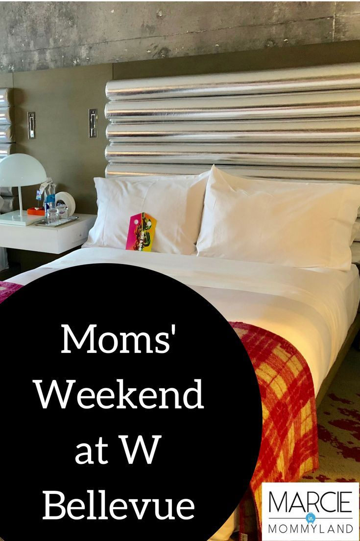 Are you looking for a girls getaway near Seattle to enjoy a Moms' Weekend? Look no further than W Bellevue at the Bellevue Collection. With tasty restaurants, lots of shopping and the new Cinemark Reserve, you can't go wrong! Click to learn more or pin to save for later. www.marcieinmommyland.com #bellevuewa #momsweekend