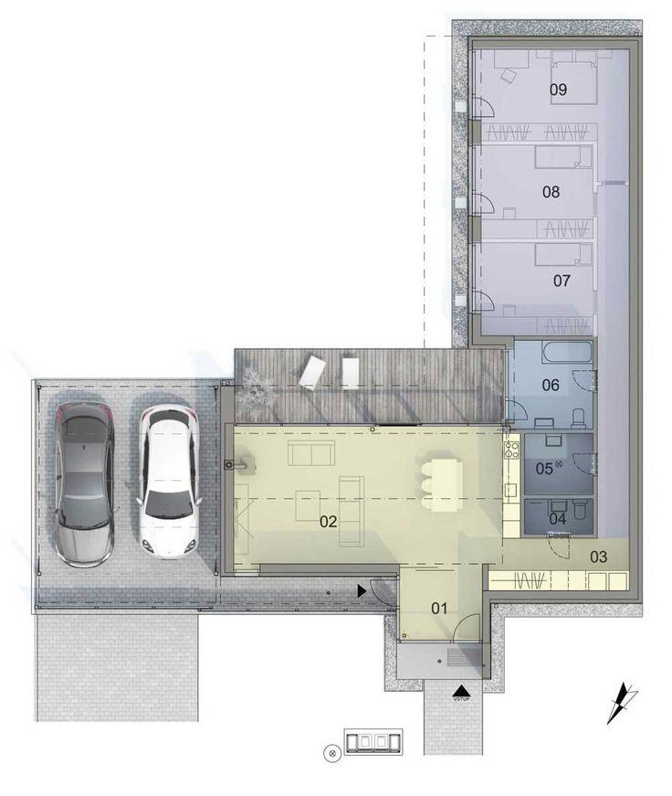Dve prestrešené parkovacie miesta? Žiadny problém pre projekt Hubice Dvory v blízkosti Bratislavy #byvaniepribratislave #garazpredveauta #inovativneriesenia #byvanienavidieku