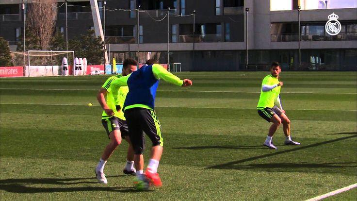 Video Real Madrid La Liga training session
