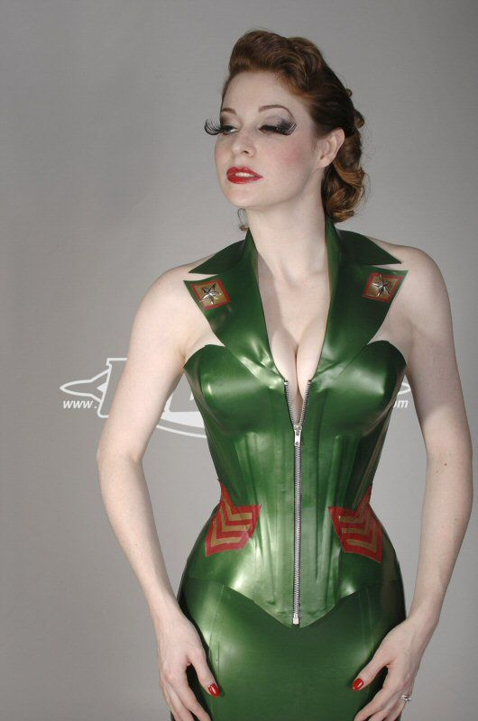 army Corset | Libidex Military Corset from our Latex ...