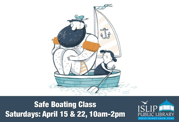 Safe Boating Class Saturdays: April 15 & 22 10:00 – 2:00 pm + (April 29/optional )  Great South Bay Power Squadron is offering this Boating Course. The class will be taught by USPS certified instructors. Successful completion of the course qualifies participants for New York State Boater and PWC (jet ski) license, and further qualifies as a boating license in all states that have license requirements. Adults are welcome to attend as well as teens.