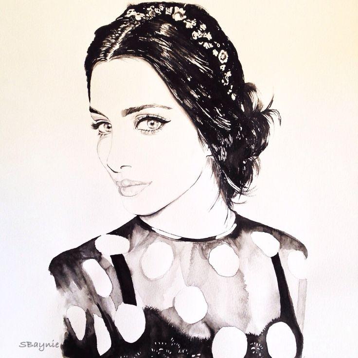 Stephanie Baynie Fashion Illustration
