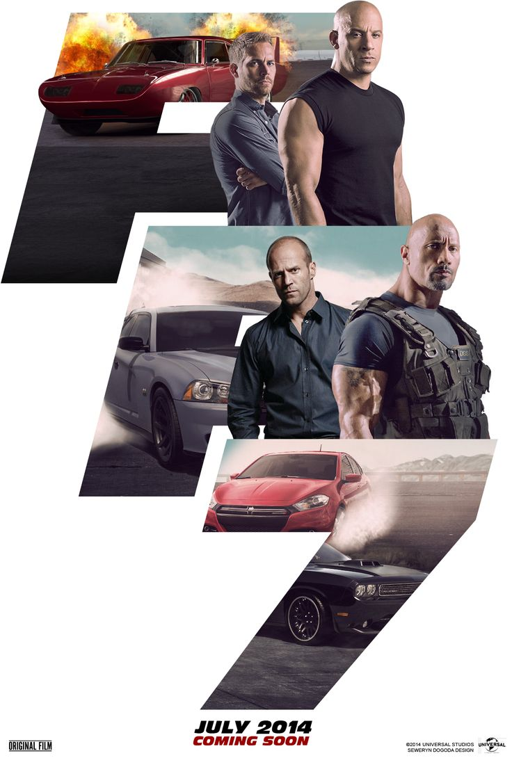 Fast and Furious 7 - Ιδού τα νέα posters