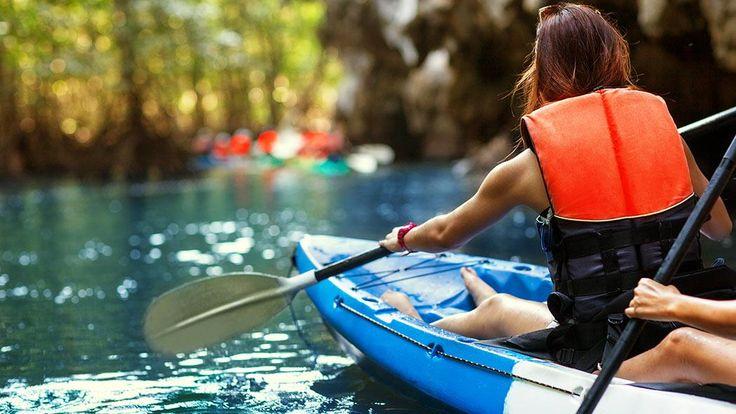 Envie de vous initier au canot-camping ou au kayak...