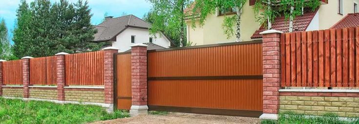 Желаете купить откатные ворота? Нужны раздвижные ворота ...